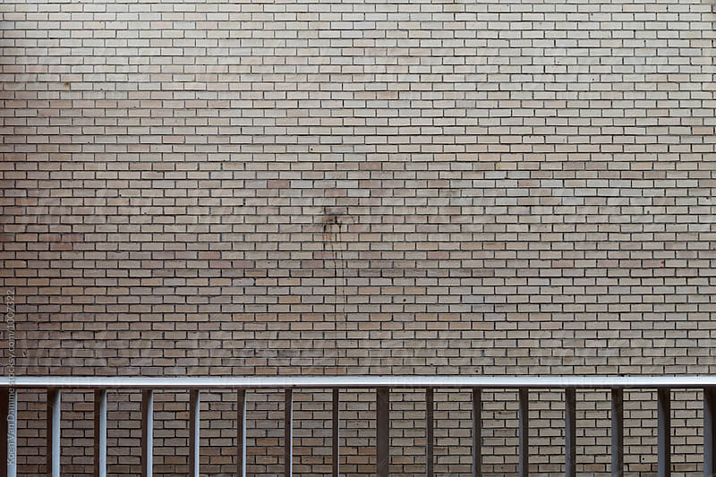 brick wall by Koen Van Damme for Stocksy United