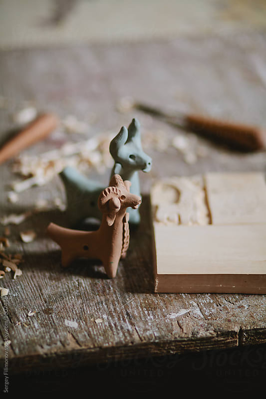 East european folk craft toy  by Sergey Filimonov for Stocksy United