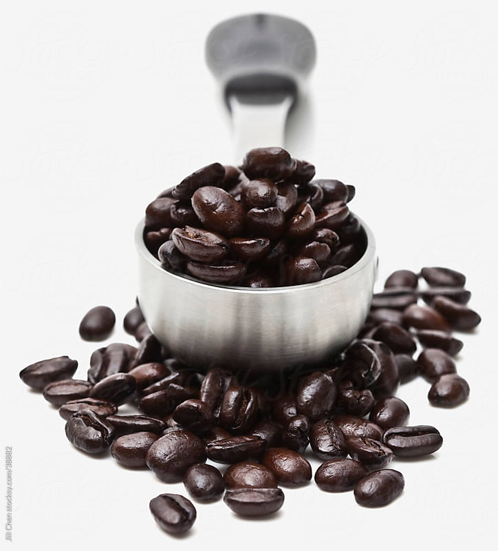 Coffe Beans Close Up by Jill Chen for Stocksy United
