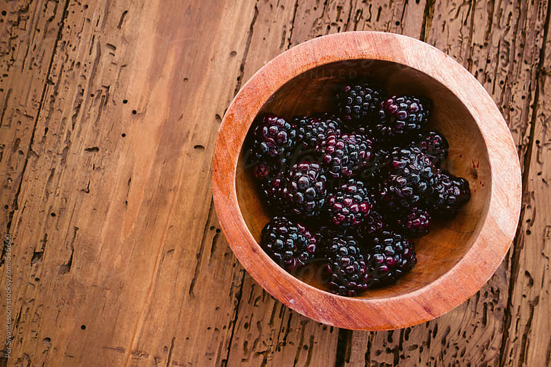 Blackberry in bowl by Per Swantesson for Stocksy United