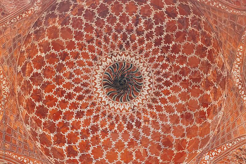 Circular decorative ornament. Mandala design. by Alexander Grabchilev for Stocksy United