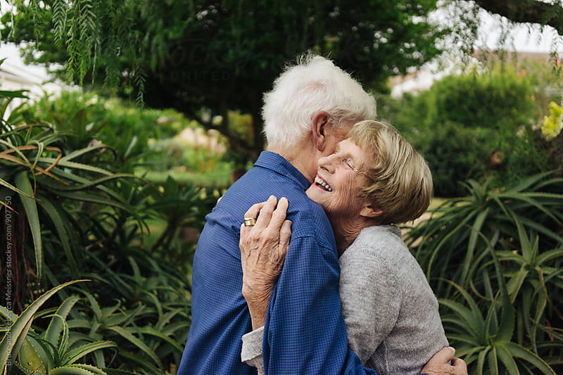 Elderly Couple by Bruce and Rebecca Meissner for Stocksy United