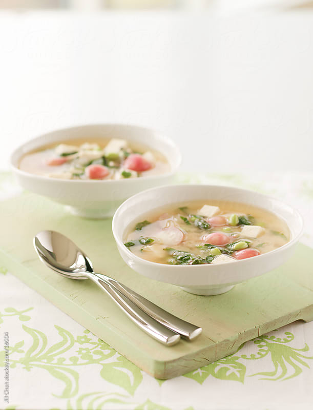 Miso Radish Soup by Jill Chen for Stocksy United