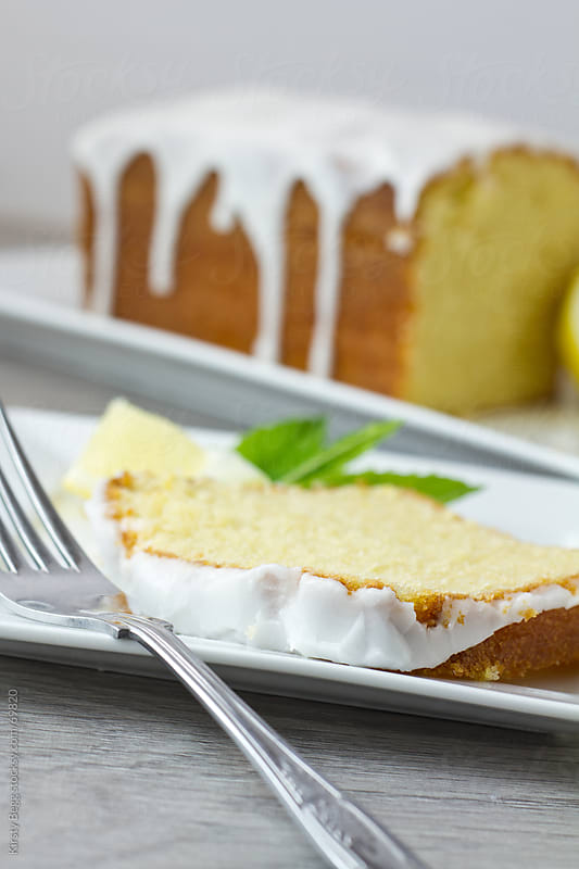 Lemon Loaf slice by Kirsty Begg for Stocksy United