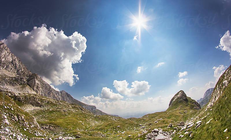 Sunny day on mountain by Marko Milovanović for Stocksy United