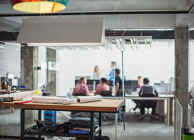 Designers' Workshop at a Modern Company by Lumina for Stocksy United