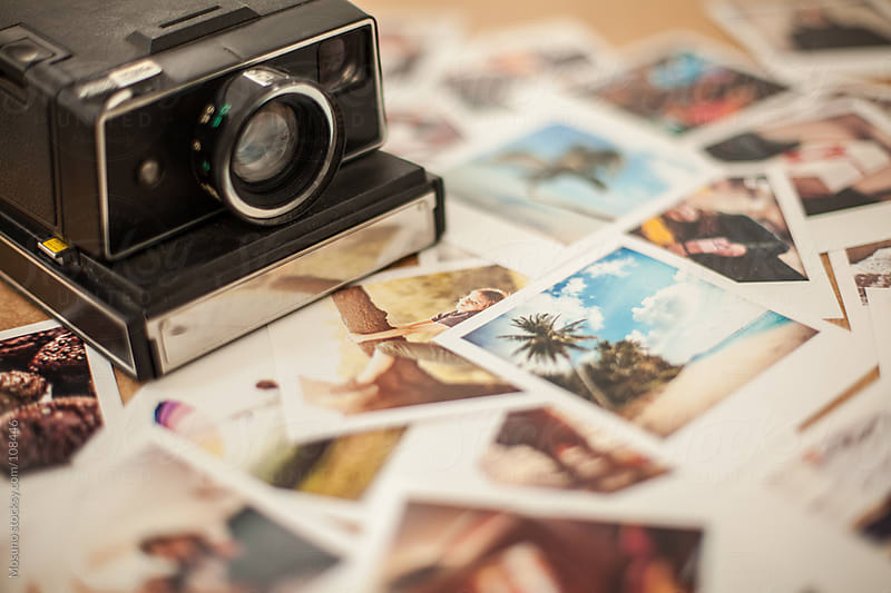Polaroid Photo Collage by Mosuno for Stocksy United