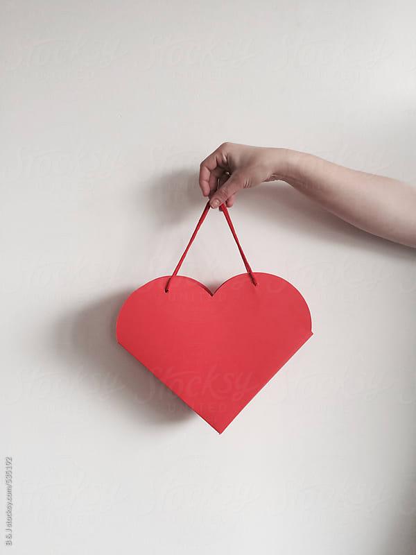 Heart bag by B & J for Stocksy United