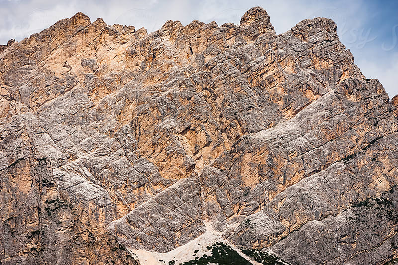 Italian Dolomites Rocky Mountains by Giorgio Magini for Stocksy United