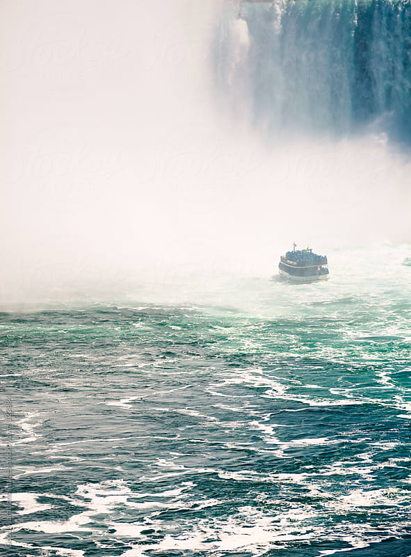 Niagara Falls by Good Vibrations Images for Stocksy United