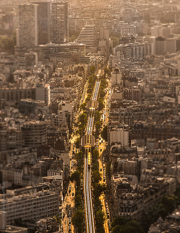 Street of Paris by Edward Adios for Stocksy United