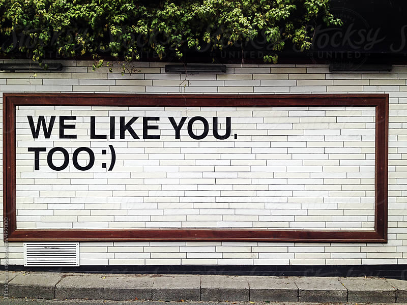 We Like You, Too :) by Eldad Carin for Stocksy United