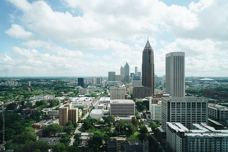 Atlanta, Georgia's Skyline by B. Harvey for Stocksy United
