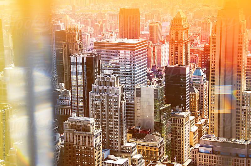 new york city scyscrapers by Sonja Lekovic for Stocksy United