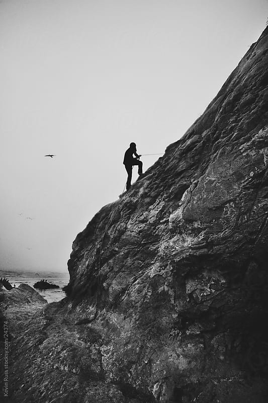 Coastal Rock Climbing by Kevin Russ for Stocksy United