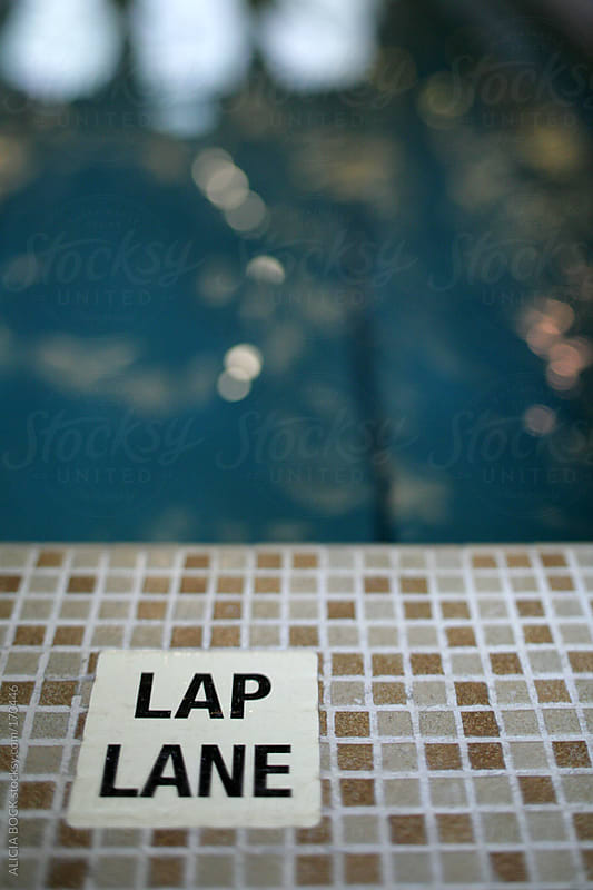 Swimming Pool Lap Lane by ALICIA BOCK for Stocksy United