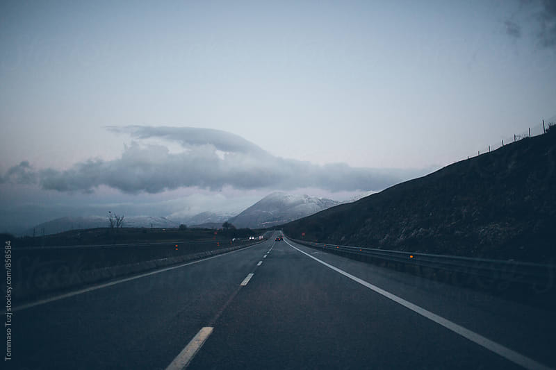 View from car window by Tommaso Tuzj for Stocksy United
