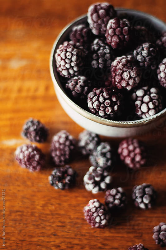 Frosted Blackberries by Helen Rushbrook for Stocksy United