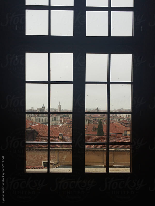 Window with view on Venice by Lyuba Burakova for Stocksy United