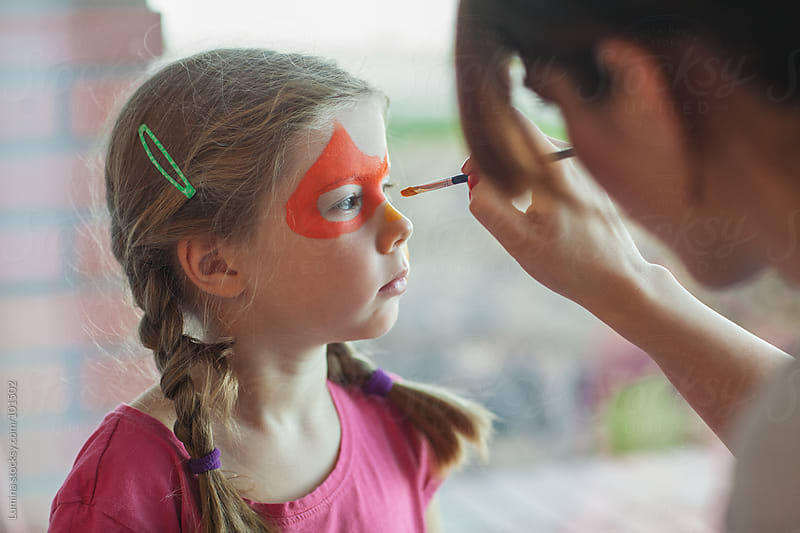 Face Painting by Lumina for Stocksy United