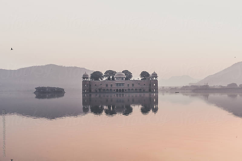 Jal Mahal, Jaipure by Luke Gram for Stocksy United