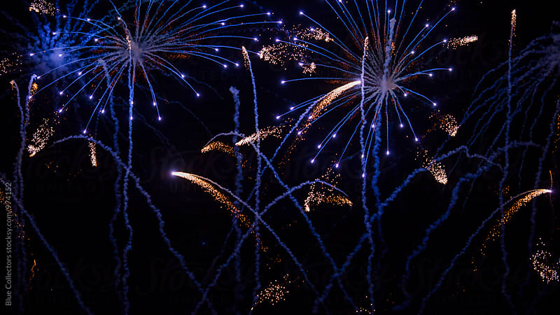 fireworks background by Blue Collectors for Stocksy United