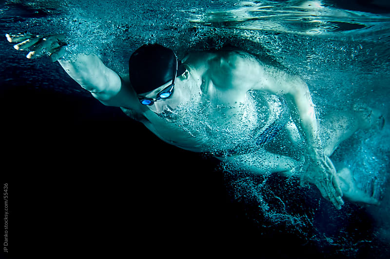 Olympic Swimming Pool Underwater underwater mens olympic swimming freestylejp danko - stocksy