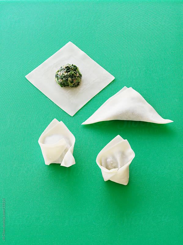 How To Wonton by Jill Chen for Stocksy United