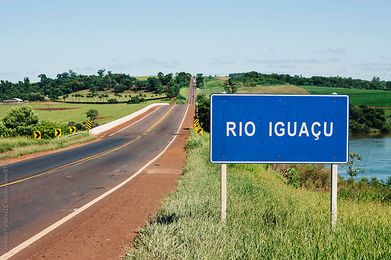 Iguazu River Rural Parana State Brazil Near Iguazu Falls by Raymond Forbes LLC for Stocksy United