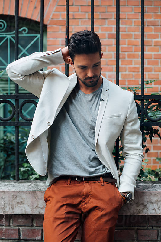 Stylish Man on the Street by Lumina for Stocksy United