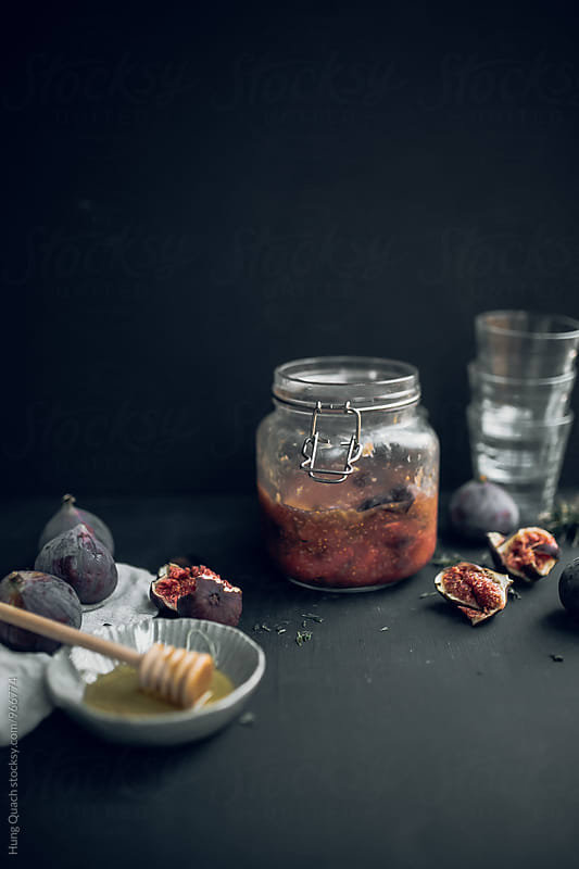 Fig & Honey Homemade Syrup by Hung Quach for Stocksy United