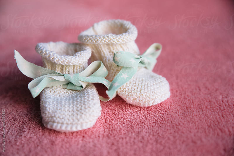 Newborn socks by Vera Lair for Stocksy United