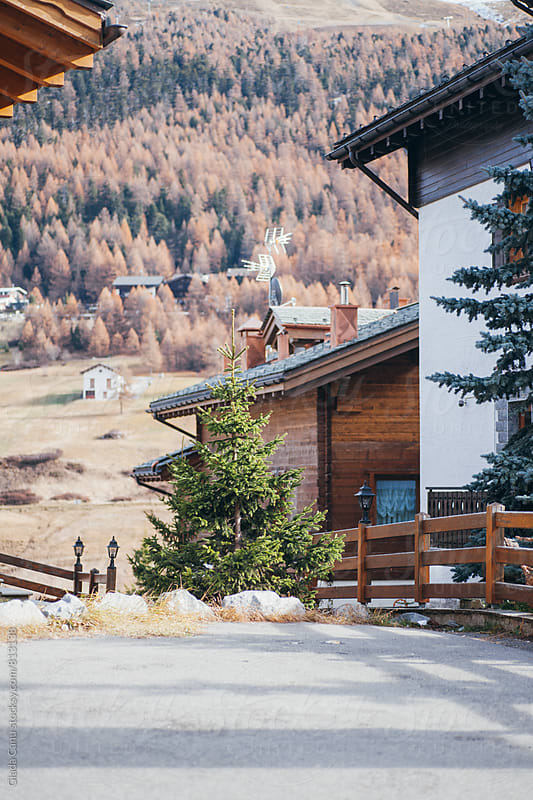 House in the alps by Giada Canu for Stocksy United