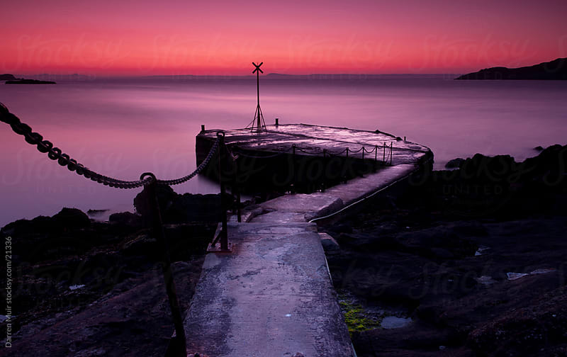North Berwick Old Pier. by Darren Muir for Stocksy United