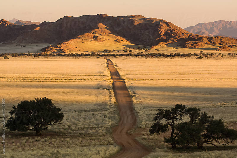 A road across the savanna by Jonatan Hedberg for Stocksy United