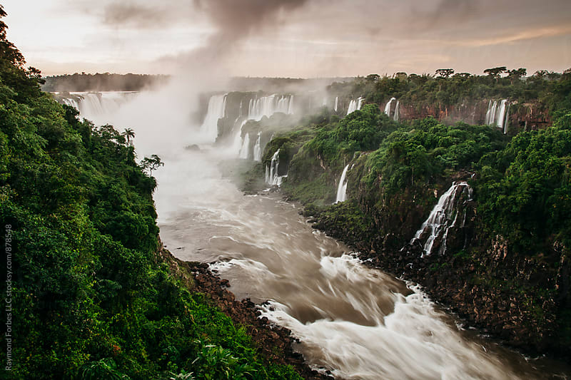 Iguazu Falls Brazil by Raymond Forbes LLC for Stocksy United