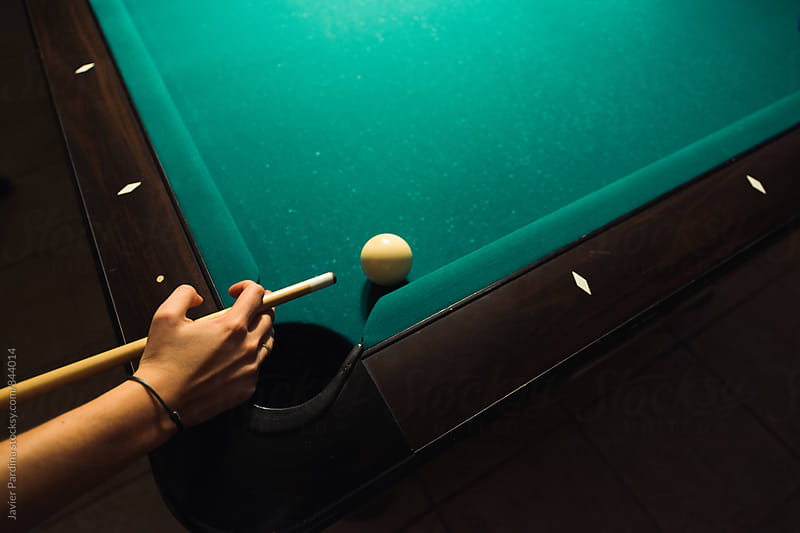 details of billiards  by Javier Pardina for Stocksy United