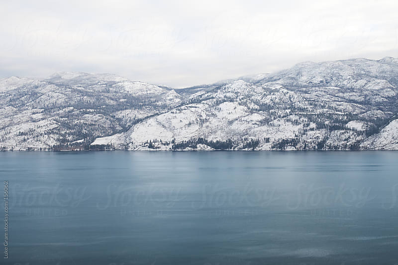 Okanagan Lake II by Luke Gram for Stocksy United