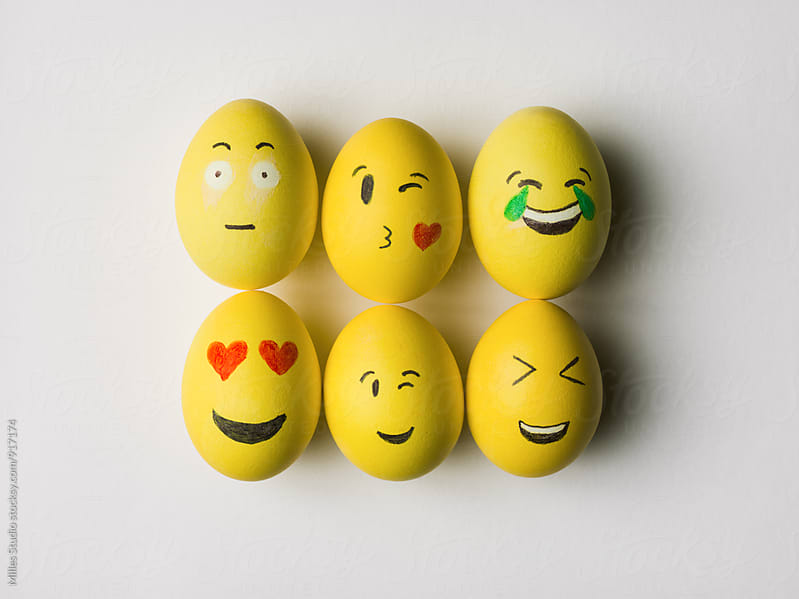 Funny Eggs by Milles Studio for Stocksy United