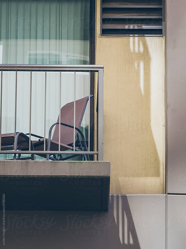 balcony of apartment by yuanyuan xie for Stocksy United