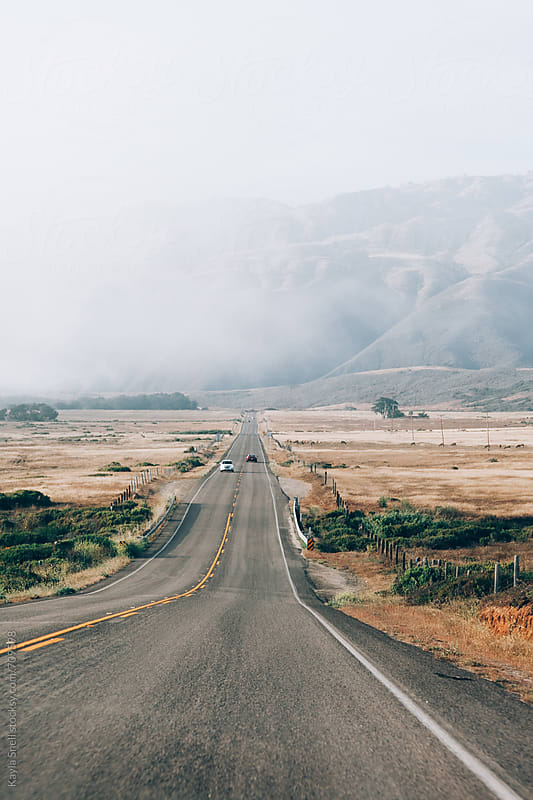 Driving to Big Sur by Kayla Snell for Stocksy United