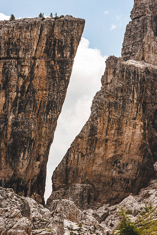 Cinque Torri, Italian Dolomites Mountains by Giorgio Magini for Stocksy United