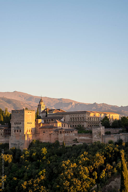 Views of Alhambra, Granada by Bisual Studio for Stocksy United