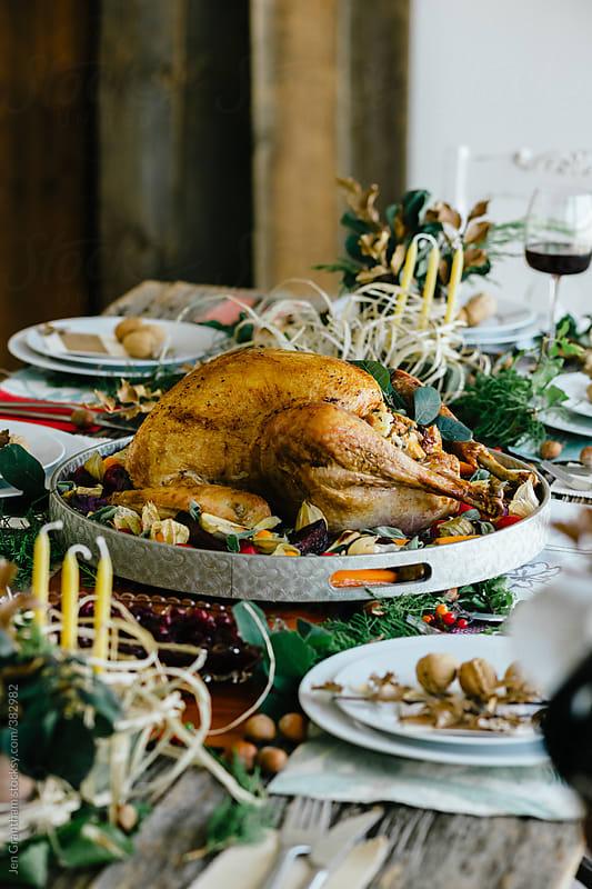 Turkey Dinner by Jen Grantham for Stocksy United