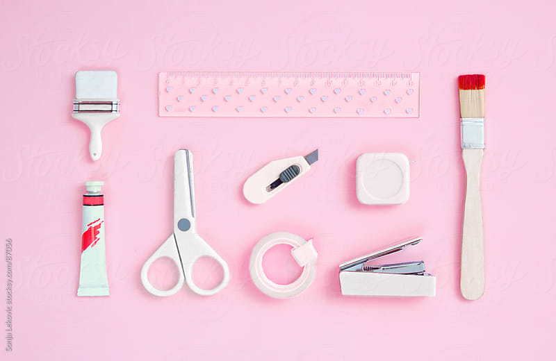 basic school accessories by Sonja Lekovic for Stocksy United