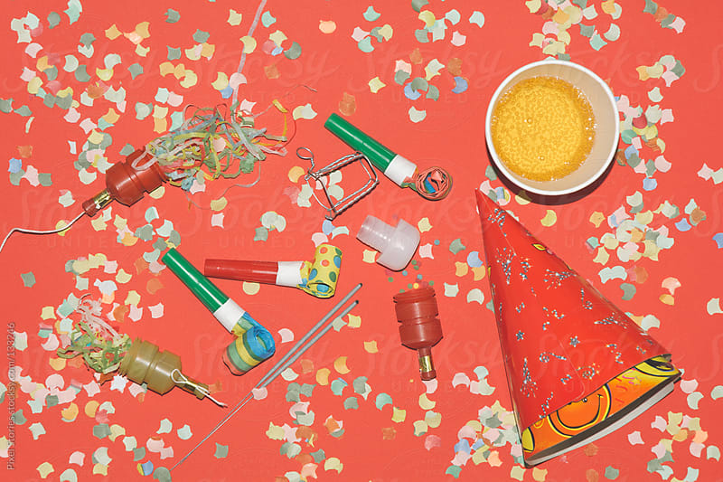 Party essentials by Pixel Stories for Stocksy United