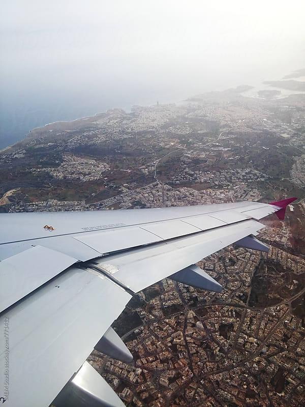 Malta from above by MEM Studio for Stocksy United