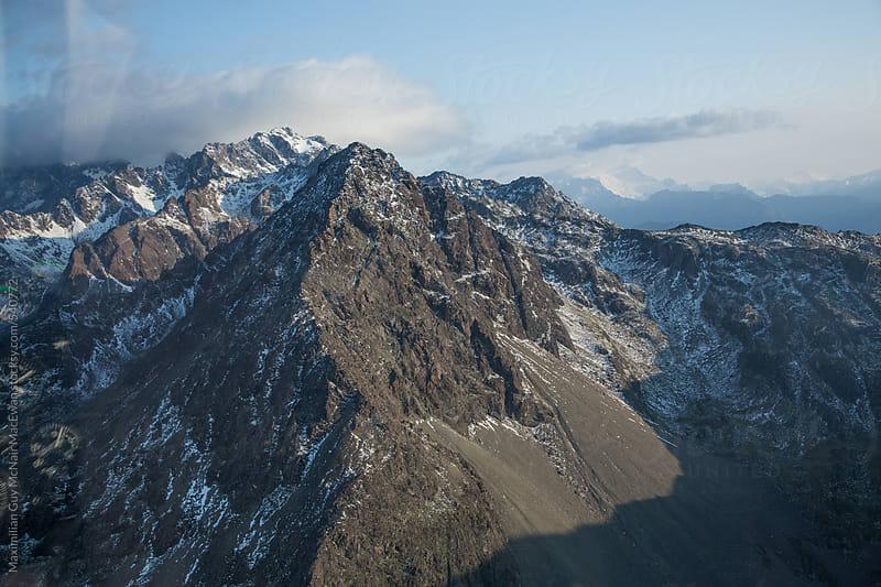 Vast New Zealand Mountain Range by Maximilian Guy McNair MacEwan for Stocksy United