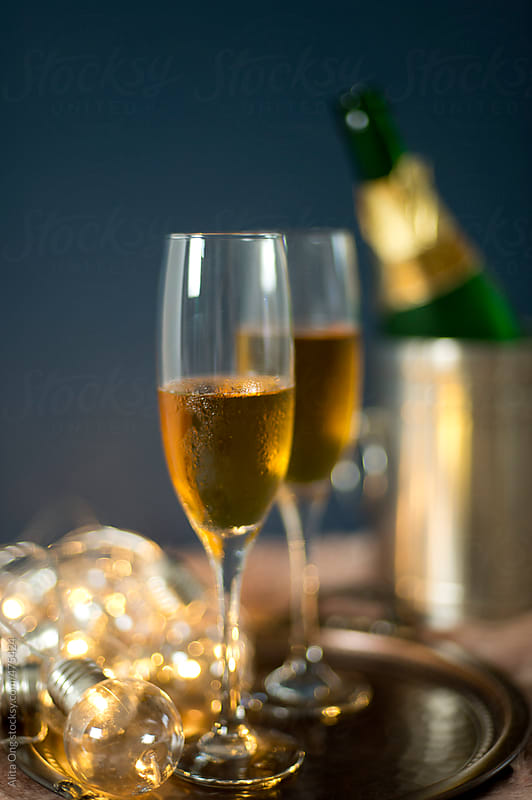 Champagne by Alita Ong for Stocksy United