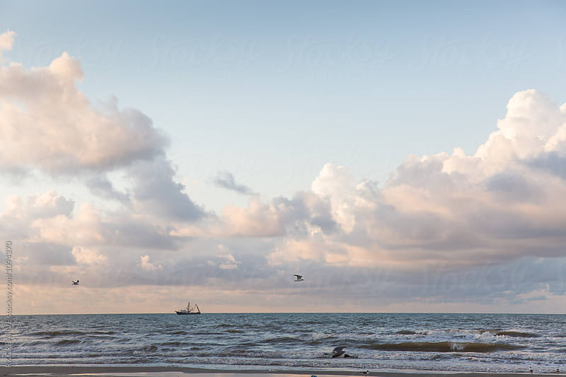 Galveston Island, Texas. by Robert Zaleski for Stocksy United